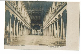 CPA-Carte Postale-Italie- Roma- Interno Di S. Paolo - VM16633 - San Pietro