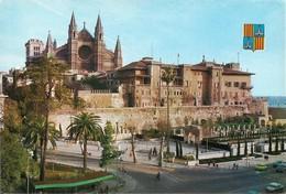 Espagne Palma De Mallorca La Catedral (2 Scans) - Palma De Mallorca