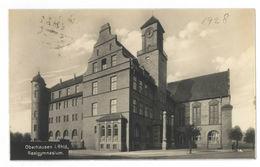 Oberhausen I. Rhld., Realgymnasium 1928 Trinks-Postkarte - Oberhausen