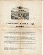 Ecole D'autrefois - Pensionnat Saint-Joseph à Rouffach - Descriptif / Conditions / Trousseau ... - 3 Scans - Collections