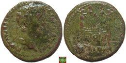 LaZooRo: Roman Empire - AE Semis Of Augustus (27 BC-AD 14), ROM ET AVG - 1. La Dinastia Giulio-Claudia Dinastia (-27 / 69)