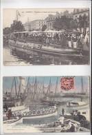 Marine Nationale / Lorient / Lot 2 CP / Torpilleur Au Bassin, Cies En Route Pour Le Bord - Guerre