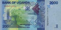 Uganda (BOU) 2000 Shillings 2015 UNC Cat No. P-50c / UG155c - Uganda