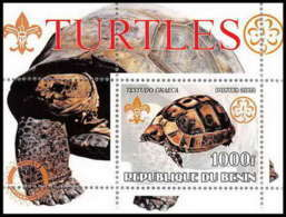2111 Bloc Neuf ** MNH Vignette Tortue Turtle Scout (scouting - Jamboree) - Turtles