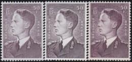 Belgie    .    OBP     .   879/879A/879AP3      .     **      .    Postfris  .   /   .   Neuf SANS Charnière - Unused Stamps