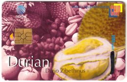 INDONESIA A-627 Chip Telkom - Food, Fruit - Used - Indonesia