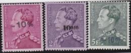 Belgie    .    OBP     . 724 A/C/E     .     **      .    Postfris  .   /   .   Neuf SANS Charnière - Nuovi