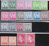 Belgie    .    OBP     .   1066/1075 + P3's    .     **      .    Postfris  .   /   .   Neuf SANS Charnière - Unused Stamps