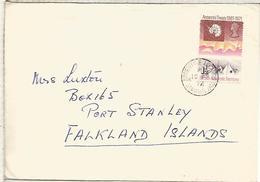 ANTARTIDA BRITISH ANTARCTIC TERRITORY CC MAT ARGENTINE ISLAND GRAHAM LAND 1972 - Tratado Antártico