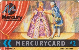 679/ United Kingdom - Mercury; Cinderella, CP Not Visible - More Scratches - [ 4] Mercury Communications & Paytelco