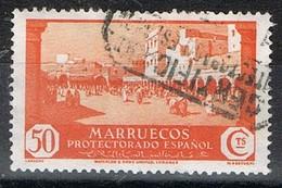 Sello 50 Cts MARRUECOS Español 1933. Edifil Num 142 º - Spanisch-Marokko