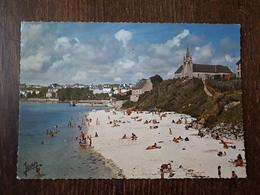 L27/1230 POULGOAZEC - AUDIERNE - La Plage Et L'Eglise Saint Julien - Audierne