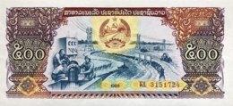 Laos 500 Kip, P-31a (1988) - UNC - Laos