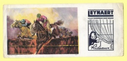 BUVARD PUBLICITAIRE LEYNAERT, HIPPISME, 10,50 Cm X 23,50 Cm - Sport