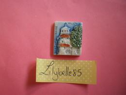 Feve PERSO Ancienne - SAINT APOLLINAIRE Serie LECLERC BOURG LES VALENCE 1995 ( Feves Figurine Miniature ) - Région