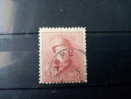 """BELGIQUE.1919. N° 178. ALBERT 1ér """" Roi Casqué """". Oblitéré .Côte Yvert 170 €. - Used Stamps"""