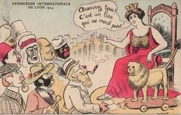 CPA JEAN ROBERT : Exposition Internationale De Lyon 1914 - Robert