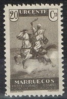 Sello NO EXPEDIDO 20 Cts 1933,  MARRUECOS Español  Edifil Num NE 11 * - Maroc Espagnol
