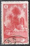 Sello 1 Ct 1931,  Variedad MARRUECOS Español  Edifil Num 132 º - Maroc Espagnol