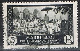 Sello 5 Pts 1933. MARRUECOS Español  Edifil Num 146 º - Spanisch-Marokko
