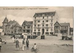 """LA BAULE (Loire Atlantique), La Plage Devant """"Armoric Hôtel"""", Belle Anomation - La Baule-Escoublac"""