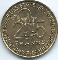 West AfrIcan States - 2012 - 25 Francs - KM9 - FAO - UNC - Coins