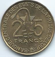 West AfrIcan States - 2012 - 25 Francs - KM9 - FAO - UNC - Monedas