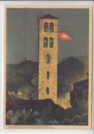 CARTE DE LA FETE NATIONALE 1938 - N/C - NUM 67 - TACHEE AU DOS - Cartas