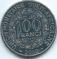 West AfrIcan States- 2012 - 100 Francs - UNC - Magnetic - Coins