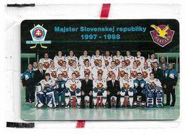 Slovakia - T-com - HC Slovan Bratislava, 10Units, 08.1998, 1.000ex, NSB - Slowakei