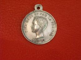 Médaille Royaliste - Henri V Prétendant Au Trone De France - Argent - Adel