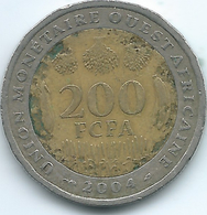 West AfrIcan States - 2004 - 200 Francs - KM14 - Coins