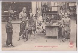 SAIGON ( VIETNAM ) : RESTAURANT EN PLEIN VENT - EDITION LA PAGODE SAIGON - ECRITE DE SAIGON EN 1919 - 2 SCANS - - Viêt-Nam
