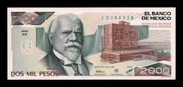 México 2000 Pesos 1985 Pick 86a Serie AZ SC UNC - Mexiko