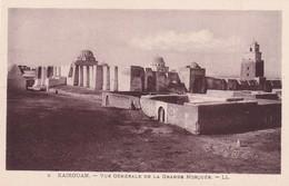Tunisie, Kairouan, Vue Générale De La Grande Mosquée - Tunisie