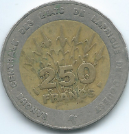 West AfrIcan States - 1996 - 250 Francs - KM13 - Coins