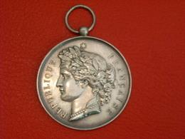 Médaille Argent - Concours Du Parc Saint Maur , 22 Aout 1886 - Adel