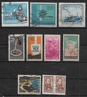 1968 Argentina CITT Mar Del Plata-hernandez-mar Del Plata-antartida-YCF-FM- 10v. - Argentina