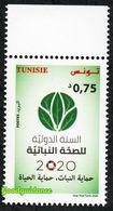 New 2020 - Tunisia - International Year Of Plant Health - Complete Set 1v.MNH** - Tunisie (1956-...)