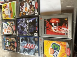 8 Games Playstation 2 - Enfants & Famille