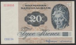 Denmark 20 Kronur 1981 P49c UNC - Danimarca