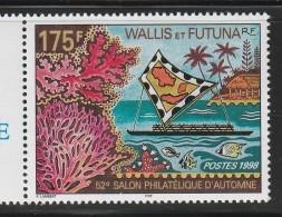 WALLIS Et FUTUNA - N°527 ** (1998)  Salon Philatélique D'automne - Neufs