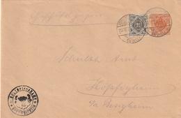 Wuerttemberg / 1917 / Dienstganzsachenumschlag Mit Zusatzfrankatur Ex Kornwestheim (BE87) - Wuerttemberg