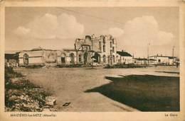 57* MAIZIERES LES METZ Ruines Gare WW2      MA105,0249 - War 1939-45