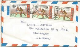 TANZANIA CC SELLO JUEGOS OLIMPICOS ATLANTA BOXEO BOXING - Boxe