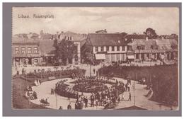 Libau,Liepaja,Roseplatz,old PC - Lettonie