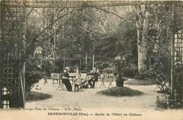 60* ERMENONVILLE  Jardins Hotel Château     MA105,0566 - Ermenonville