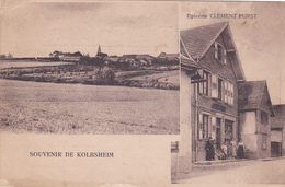 """67- KOLBSHEIM-"""" SOUVENIR De KOLBSHEIM""""-"""" EPICERIE CLEMENT FURST"""" -Ecrite-Timbrée- (13/5/20) - Francia"""