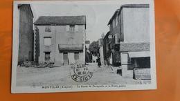 Montclar - La Route De Faveyrolle Et Le Poids Public - France