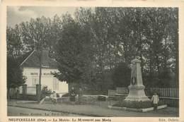 60* NEUFCHELLES Monument Aux Morts        MA105,0635 - France